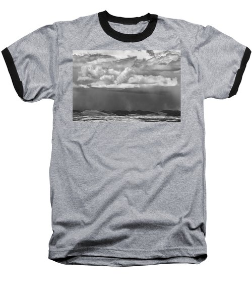 Cloudy Weather Baseball T-Shirt