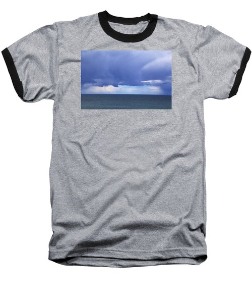 Baseball T-Shirt featuring the photograph Cloud Curtain by Nareeta Martin