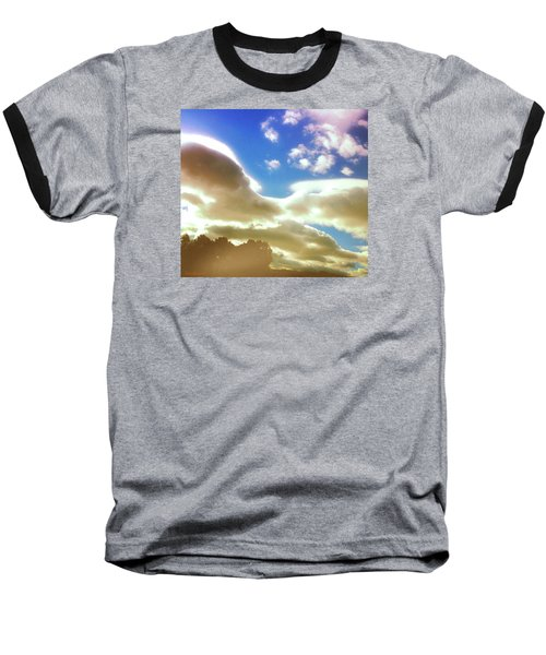 Cloud Drama Over Sangre De Cristos Baseball T-Shirt by Anastasia Savage Ealy