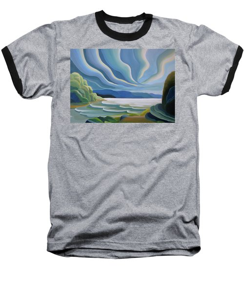Cloud Forms Baseball T-Shirt