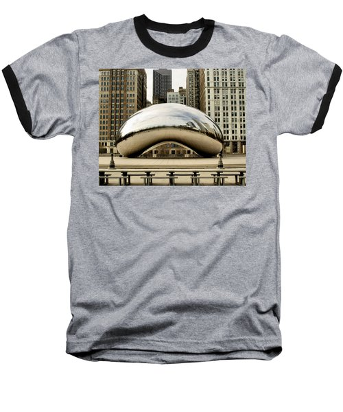 Cloud Gate - 3 Baseball T-Shirt