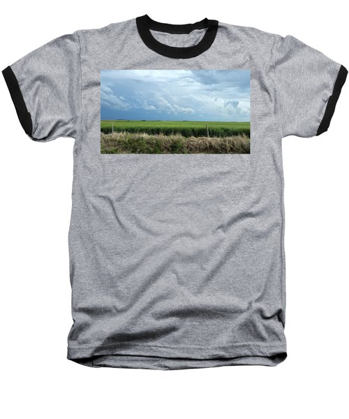 Cloud Gathering Baseball T-Shirt
