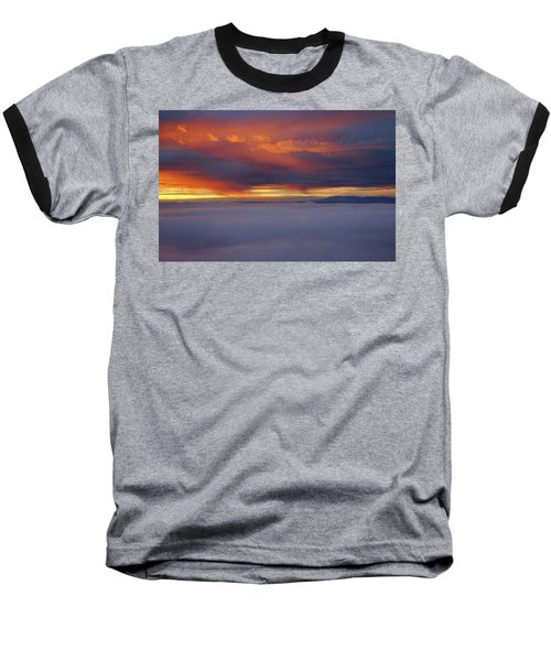 Cloud Layer Sunrise At Dead Horse Point State Park Baseball T-Shirt