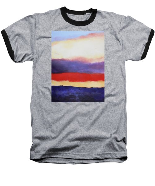 Cloud Layers 4 Baseball T-Shirt by M Diane Bonaparte