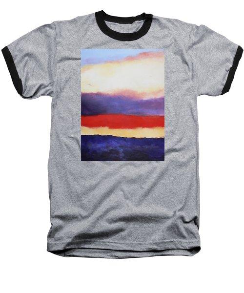Cloud Layers 4 Baseball T-Shirt