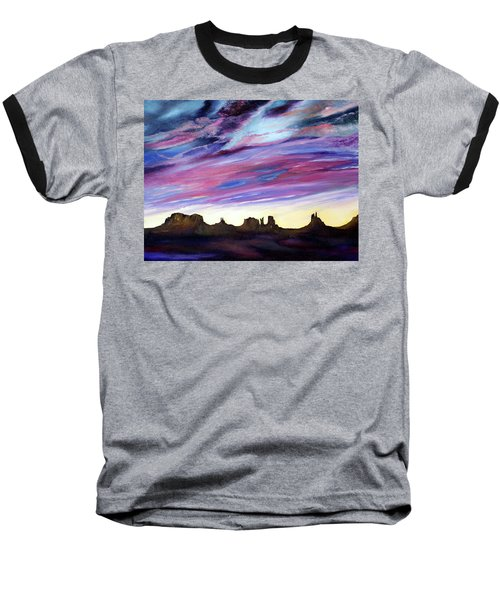 Cloud Movement Baseball T-Shirt