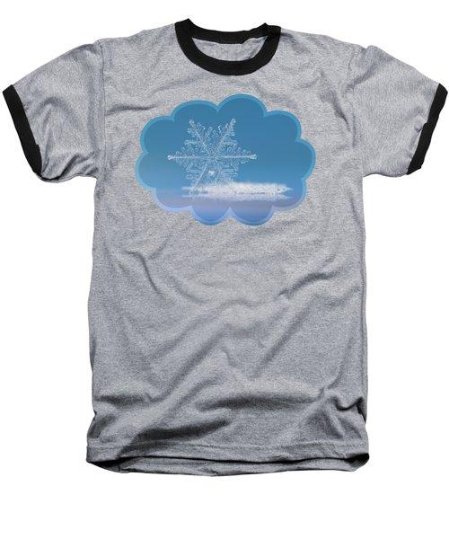 Cloud Number Nine, Panoramic Version Baseball T-Shirt