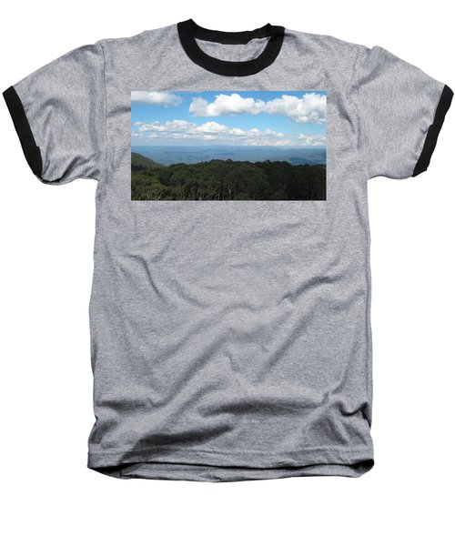 Cloud Shadows Baseball T-Shirt