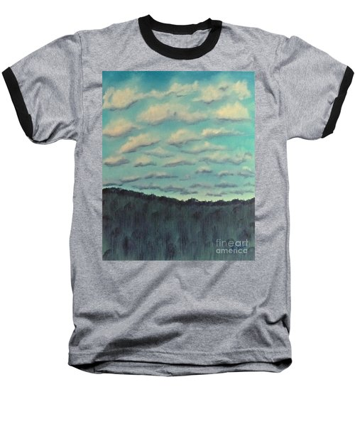 Cloud Study Baseball T-Shirt