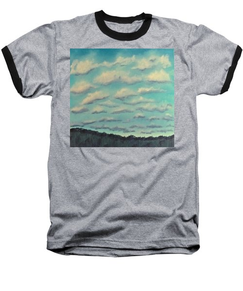 Cloud Study Cropped Image Baseball T-Shirt