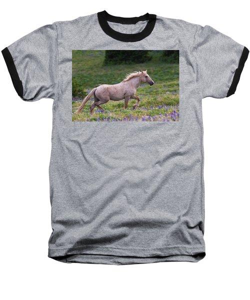 Cloud- Wild Stallion Of The West Baseball T-Shirt