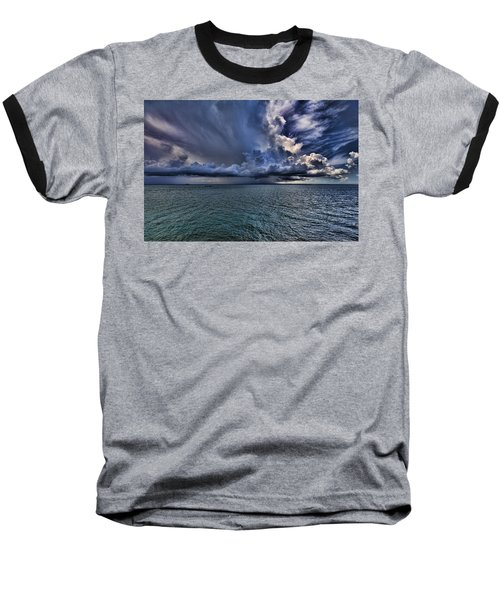 Cloudburst Baseball T-Shirt by Douglas Barnard