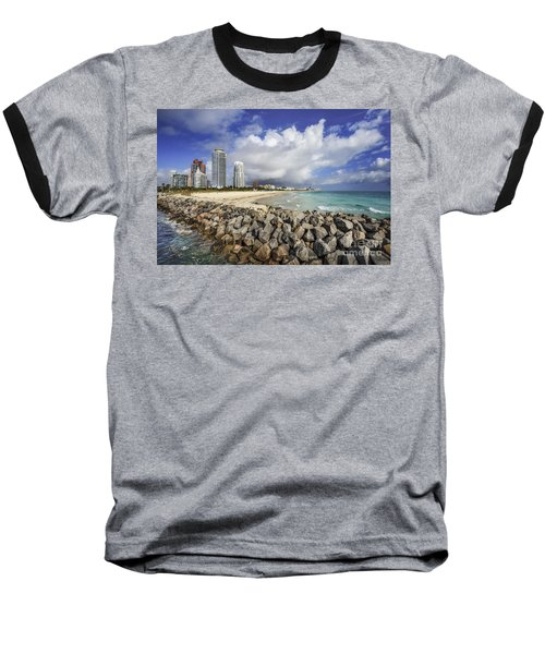 Cloudburst Baseball T-Shirt