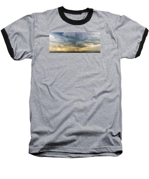 Storm Clouds - Blue Ridge Parkway Baseball T-Shirt