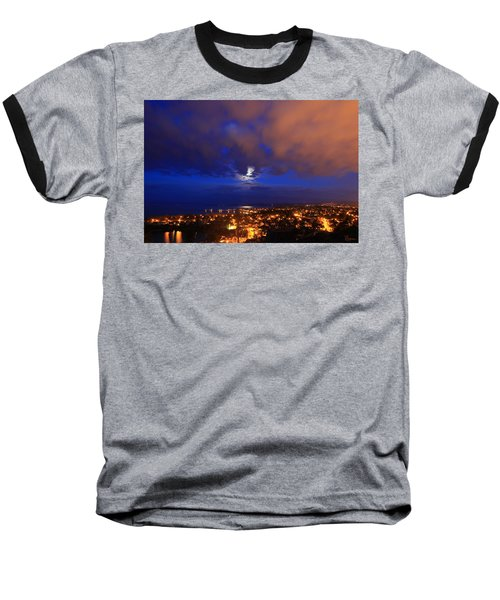 Clouded Eclipse Baseball T-Shirt