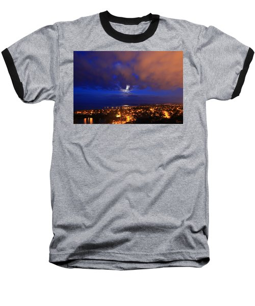 Clouded Eclipse Baseball T-Shirt