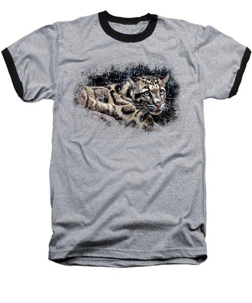 Leopard Baseball T-Shirt by David Millenheft
