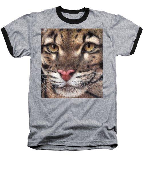 Clouded Leopard Baseball T-Shirt