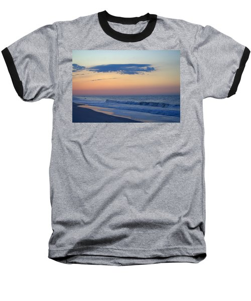 Baseball T-Shirt featuring the photograph Clouded Pre Sunrise by  Newwwman