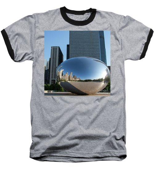 Cloudgate Reflects Baseball T-Shirt