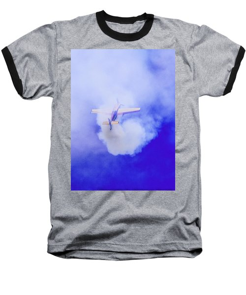 Cloudmaster Baseball T-Shirt by Michael Nowotny