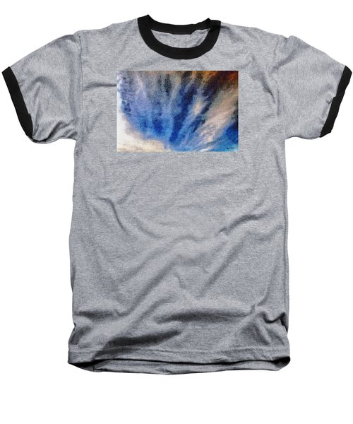 Clouds 12 Baseball T-Shirt