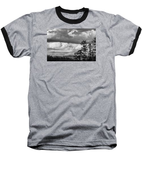 Clouds 2 Baseball T-Shirt