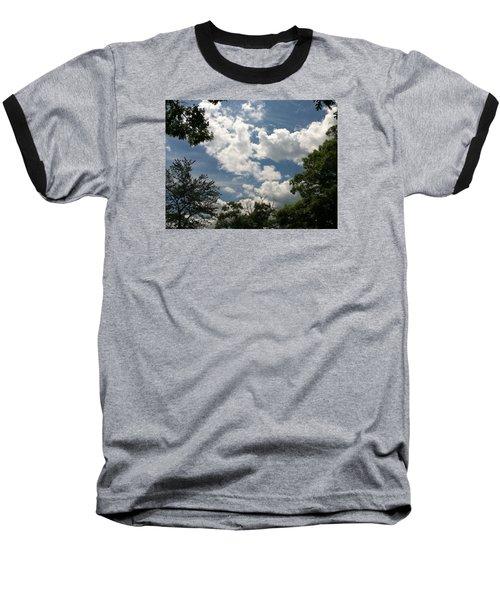 Clouds Baseball T-Shirt