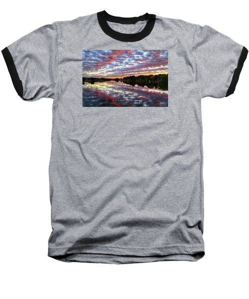 Baseball T-Shirt featuring the photograph Clouds And More by Lynn Hopwood