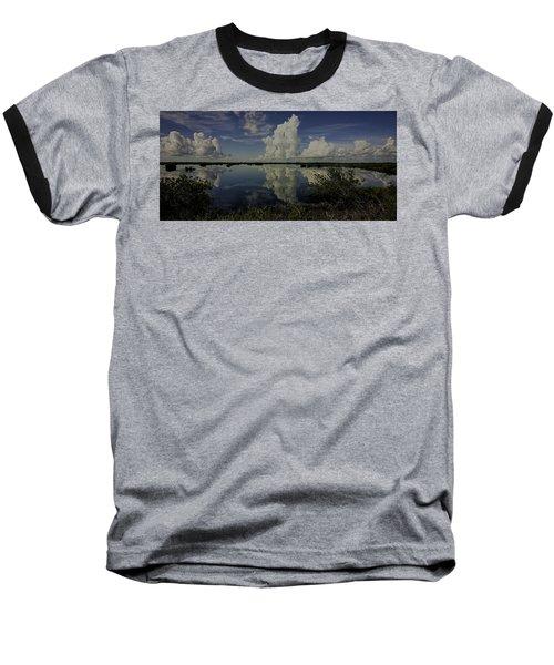 Clouds And Reflections Baseball T-Shirt