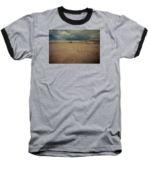 Clouds And Sand Baseball T-Shirt