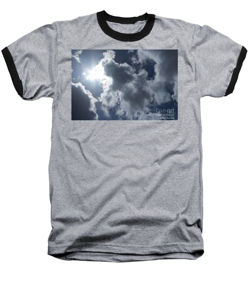 Baseball T-Shirt featuring the photograph Clouds And Sunlight by Megan Dirsa-DuBois