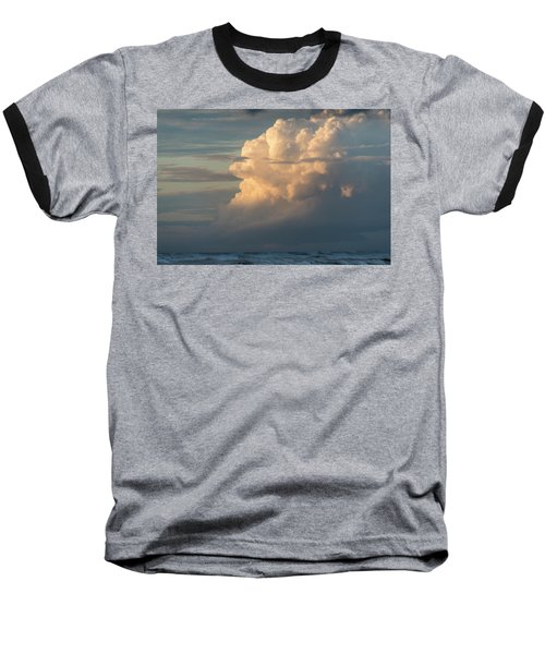 Clouds And Surf Baseball T-Shirt