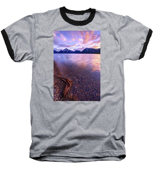 Clouds And Wind Baseball T-Shirt by Chad Dutson