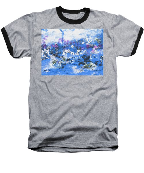 Clouds And Blossom Baseball T-Shirt