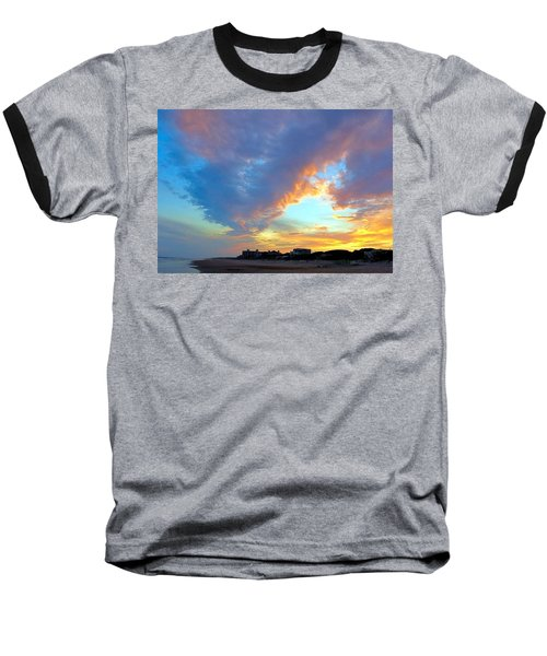 Clouds At Sunset Baseball T-Shirt by Betty Buller Whitehead