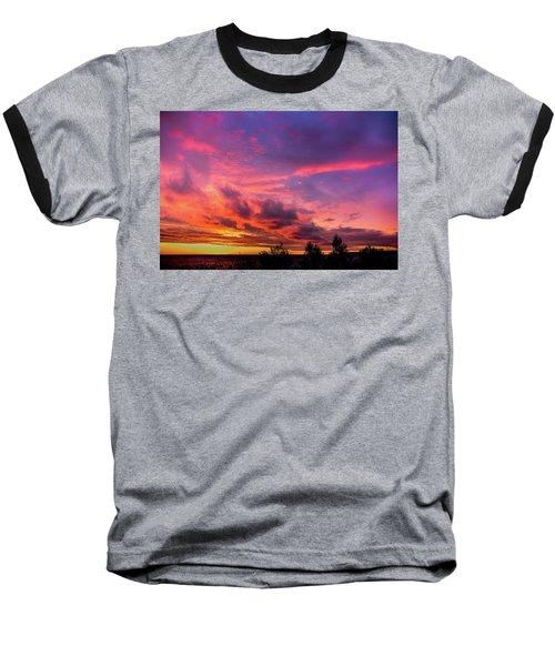 Clouds At Sunset Baseball T-Shirt