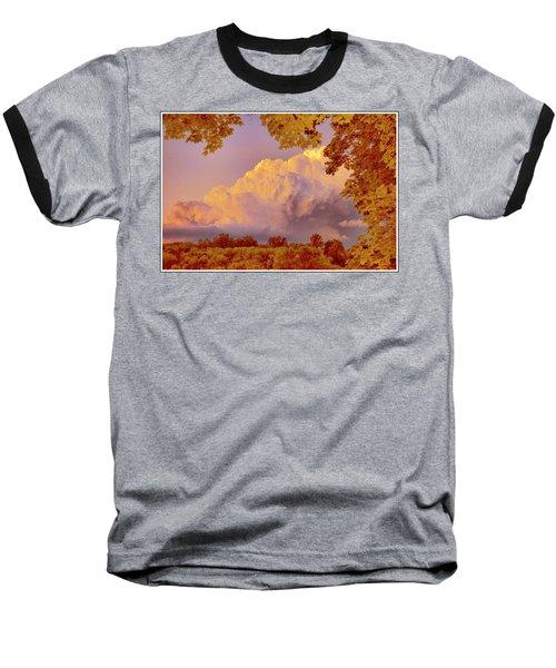 Clouds At Sunset, Southeastern Pennsylvania Baseball T-Shirt