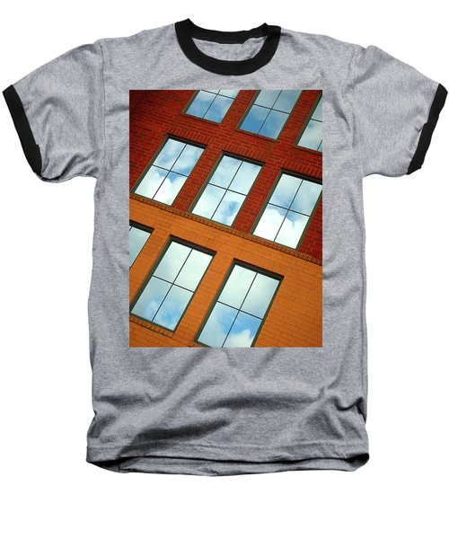 Clouds In The Windows Baseball T-Shirt