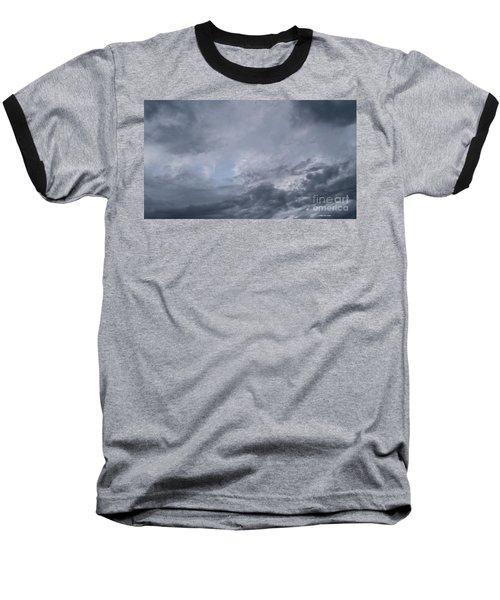 Baseball T-Shirt featuring the photograph Clouds by Megan Dirsa-DuBois