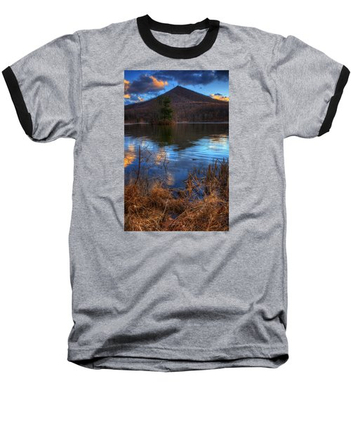 Clouds On Abbott Lake Baseball T-Shirt