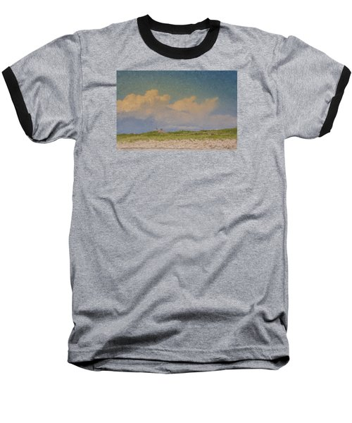 Clouds Over Goosewing Baseball T-Shirt