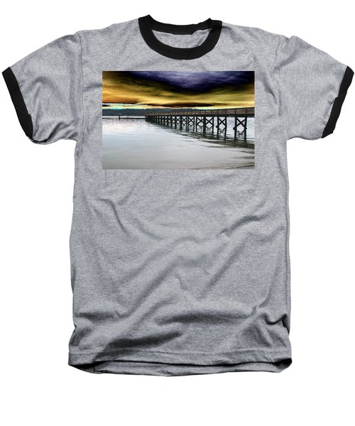 Clouds Over Illahee Baseball T-Shirt by Tim Allen