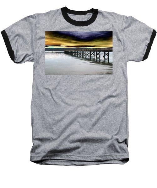 Clouds Over Illahee Baseball T-Shirt