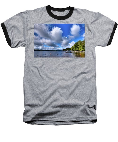 Baseball T-Shirt featuring the photograph Clouds Over Palmer Point by David Patterson