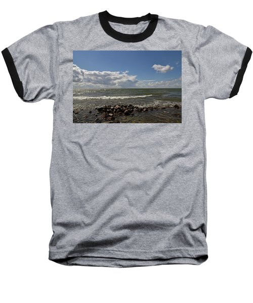 Clouds Over Sea Baseball T-Shirt