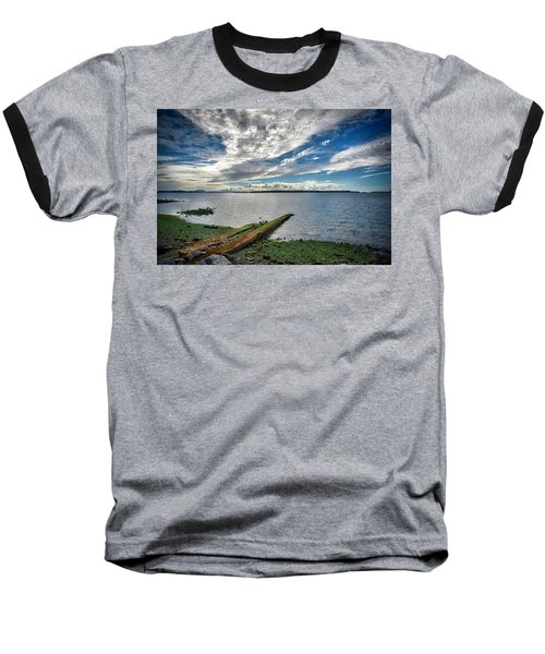 Clouds Over The Bay Baseball T-Shirt