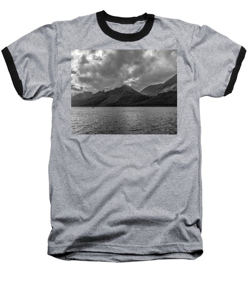 Clouds Over Loch Lochy, Scotland Baseball T-Shirt