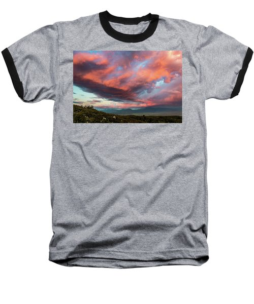 Clouds Over Warner Springs Baseball T-Shirt