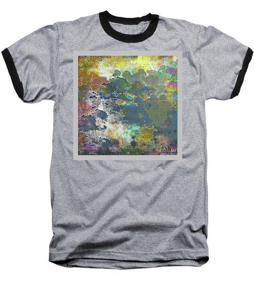 Clouds Over Water Baseball T-Shirt by Deborah Nakano